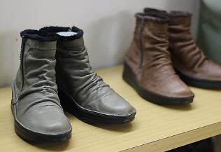 上質な靴も取りそろえられている
