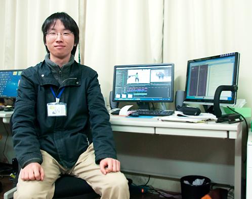 動画担当の西村さん