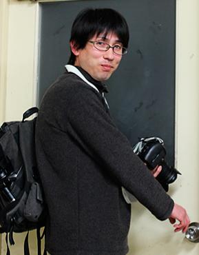 コーディング・カメラ担当の岸口さん
