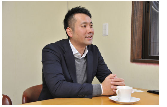 株式会社ハイロンの西垣宙志(ひろし)社長
