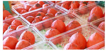 甘くて大きな柿!