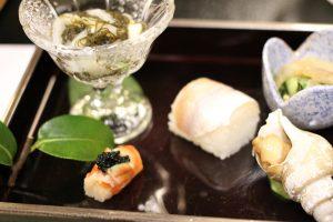 お寿司 キャビア