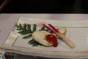 焼き魚梅肉