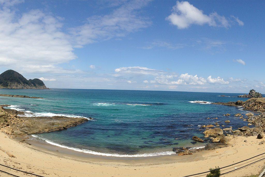 竹野町の美しい海岸