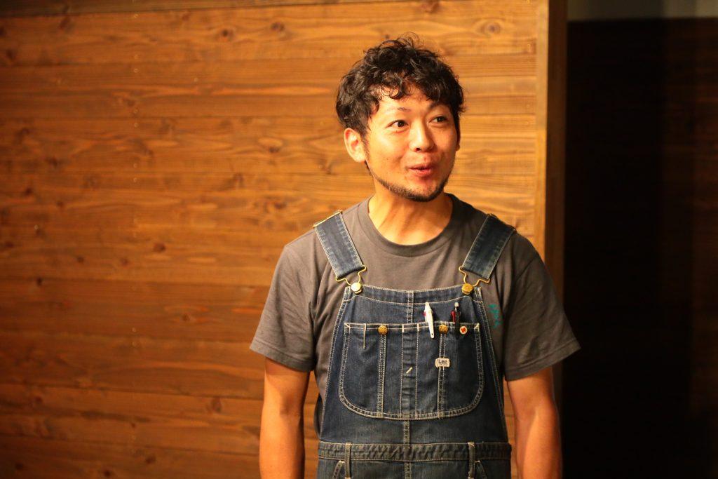 Cafe & Kitchen アグリガーデンの店主 北村元気さん