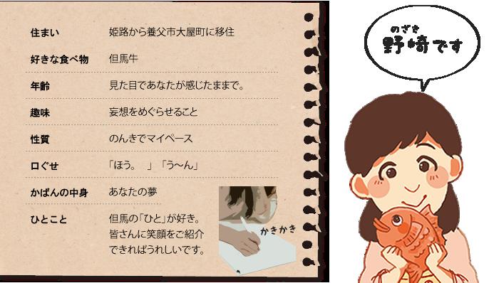 取材記者 Nozaki
