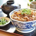 八鹿豚生姜焼き丼