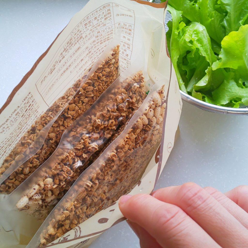 腸活もち麦みそ汁の3個入パッケージ